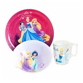 Набор Luminarc DISNEY PRINCESS ROYAL /3пр.
