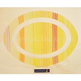 Блюдо Luminarc Carine Orange Strips /350мм овал.