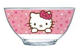 Пиала Luminarc  HELLO KITTY sweet pink /500мл